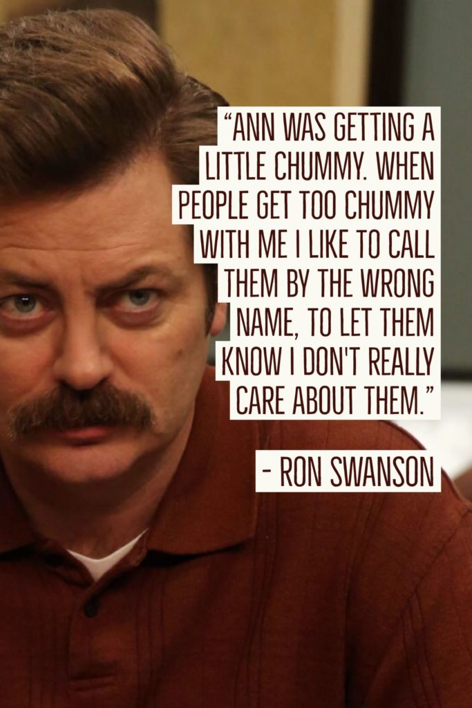 List : 26+ Best Ron Swanson Quotes (Photos Collection)  Ron Swanson Quotes Salad