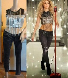 List : All Jennifer Lopez and Shakira 's outfits from Super Bowl halftime show