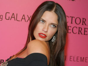 Bright Spring Adriana Lima has naturally brown hair that she occasionally lightens